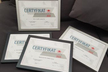 Certyfikaty Autoryzowanych Dealerów Komandor Wielkopolska S.A